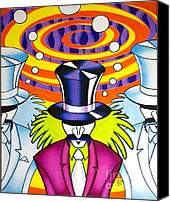 Mad Hatter Canvas Prints - Enter The Mind... Canvas Print by Robert Ball