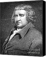 Abolitionist Canvas Prints - Erasmus Darwin, English Polymath Canvas Print by Science Source