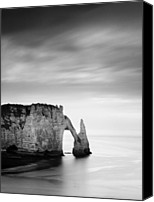 Nina Photo Canvas Prints - Etretat Canvas Print by Nina Papiorek