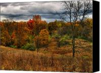 Hovind Canvas Prints - Fall Colors Canvas Print by Scott Hovind