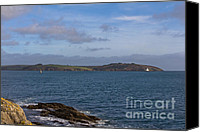 Kernow Canvas Prints - Falmouth Harbour  Canvas Print by Brian Roscorla