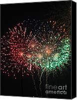 Independence Day Canvas Prints - Fantasia Canvas Print by Suzanne Gaff