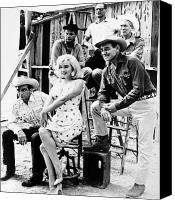 Gable Canvas Prints - Film: The Misfits, 1961 Canvas Print by Granger