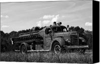 Fire Engine Canvas Prints - Fire Truck 2 Canvas Print by Off The Beaten Path Photography - Andrew Alexander
