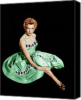 1950s Fashion Canvas Prints - From Here To Eternity, Deborah Kerr Canvas Print by Everett