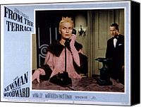 Talking Canvas Prints - From The Terrace, Joanne Woodward, Paul Canvas Print by Everett