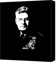 Vietnam Canvas Prints - General Curtis Lemay Canvas Print by War Is Hell Store