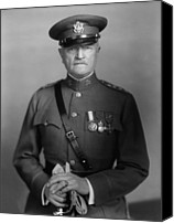 John Pershing Canvas Prints - General John Pershing Canvas Print by War Is Hell Store