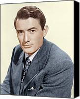 Films By Elia Kazan Canvas Prints - Gentlemans Agreement, Gregory Peck Canvas Print by Everett