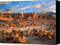 Southern Utah Canvas Prints - Goblin Valley State Park Utah Canvas Print by Utah Images