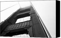 Strength Canvas Prints - Golden Gate Tower 2 Canvas Print by Mark Fuller