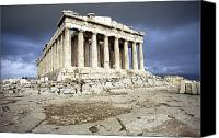 Acropolis Canvas Prints - Greece: Parthenon Canvas Print by Granger