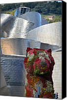 Guggenheim Canvas Prints - Guggenheim Museum Bilbao - 2 Canvas Print by RicardMN Photography