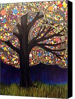 Lonesome Canvas Prints - Gumball tree 00053 Canvas Print by Monica Furlow