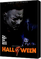 Horror Movies Canvas Prints - Halloween, 1978 Canvas Print by Everett