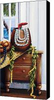 Dresser Canvas Prints - Hawaiian Still Life Panel Canvas Print by Sandra Blazel - Printscapes