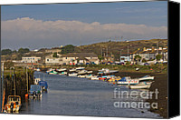 Kernow Canvas Prints - Hayle Harbour Canvas Print by Brian Roscorla