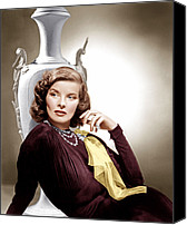 1930s Movies Canvas Prints - Holiday, Katharine Hepburn, 1938 Canvas Print by Everett