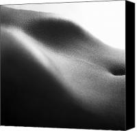 Sensuality Photo Canvas Prints - Human form abstract body part Canvas Print by Anonymous