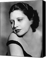 1930s Hairstyles Canvas Prints - I Found Stella Parish, Kay Francis, 1935 Canvas Print by Everett