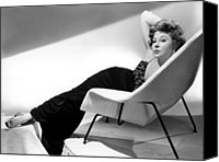 1955 Movies Canvas Prints - Ill Cry Tomorrow, Susan Hayward, 1955 Canvas Print by Everett
