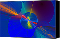 Fractal Design Canvas Prints - Imagine Canvas Print by Sandy Keeton