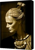 Jezcself Photo Canvas Prints - In Thought Canvas Print by Jez C Self