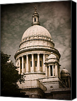 Statehouse Canvas Prints - Independent Man Canvas Print by Lourry Legarde