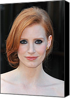 2010s Fashion Canvas Prints - Jessica Chastain At Arrivals For The Canvas Print by Everett