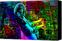 Page Special Promotions - Jimmy Page Canvas Print by Dancin Artworks