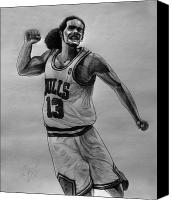 Noah Drawings Canvas Prints - Joakim Canvas Print by Adam Barone