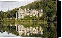 Archival Canvas Prints - Kylemore Abbey, County Galway, Ireland Canvas Print by Peter McCabe