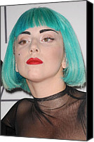 The 2011 Cfda Fashion Awards Canvas Prints - Lady Gaga At Arrivals For The 2011 Cfda Canvas Print by Everett