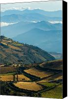 Mountain Canvas Prints - Landscape of southern Colombia. Canvas Print by Eric Bauer