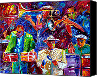Salsa Canvas Prints - Latin Jazz Canvas Print by Debra Hurd