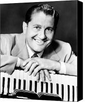 Bandleader Canvas Prints - Lawrence Welk (1903-1992) Canvas Print by Granger