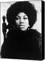 Csx Canvas Prints - Leontyne Price, American Opera Singer Canvas Print by Everett