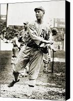 Sports Photo Canvas Prints - Leslie Bush (1892-1974) Canvas Print by Granger