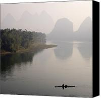 Peak One Canvas Prints - Li River, Yangshuo County, Guilin Canvas Print by Keith Levit