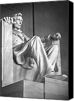 National Monument Canvas Prints - Lincoln Memorial Canvas Print by Mike McGlothlen