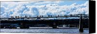 London Skyline Canvas Prints - London Skyline Canvas Print by Dawn OConnor