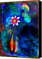 Lily Canvas Prints - Lovers Canvas Print by Gina Signore