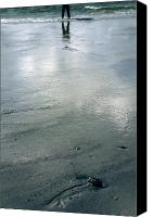 Eerie Canvas Prints - Low Tide Canvas Print by Joana Kruse