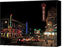 Kansas City Canvas Prints - Main Street  Canvas Print by Steve Karol