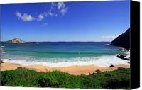 Boogie Canvas Prints - Makapuu Beach Canvas Print by Kevin Smith