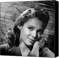 1960 Movies Canvas Prints - Malaga, Dorothy Dandridge, 1960 Canvas Print by Everett