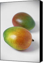 Mangoes Canvas Prints - Mangoes Canvas Print by Veronique Leplat