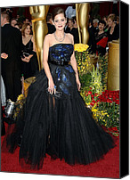 Academy Awards Oscars Canvas Prints - Marion Cotillard Wearing A Christian Canvas Print by Everett