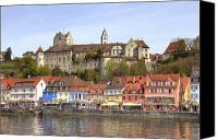 Lake Constance Canvas Prints - Meersburg - Lake Constance Canvas Print by Joana Kruse