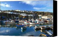 Kernow Canvas Prints - Mevagissey Canvas Print by Carl Whitfield